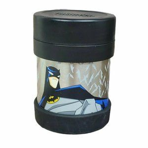 Thermos Batman Funtainer Food Jar Lunch Container Lunchbox School Work